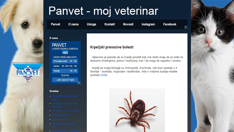 Panvet blog - moj veterinar